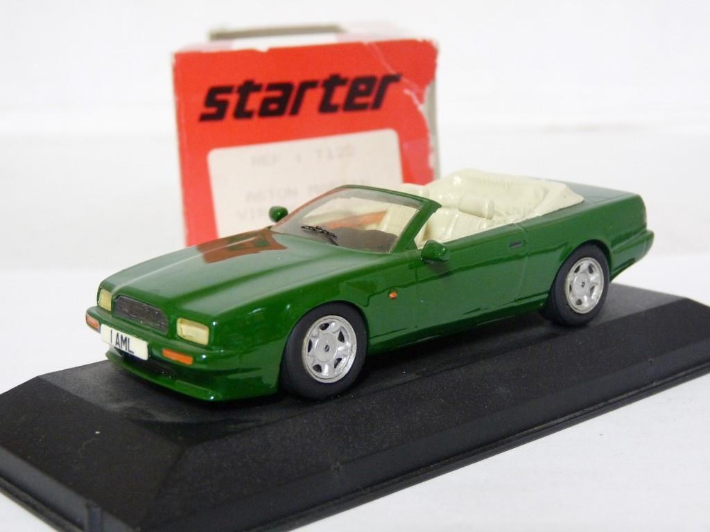 Starter T122 1 43 Aston Martin Virage Volante Handmade Resin Model Car