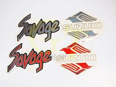 Gas Tank Emblem Badge Decal for Suzuki Bandit GSF 250 400 600 650 750 #lu