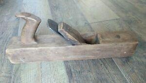 Antique-New-York-Tool-Co-Wood-Block-Plane-No-12-Cast-Steel-Baldvin-Blade-16-034