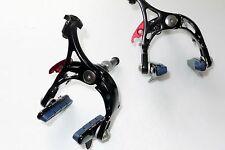 mr-ride Ultra light Road Bike Brake Calipers 235g Front Rear Black for Shimano