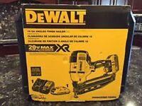 Dewalt Dcn660d1 20v Max Cordless 16ga 20 Deg Angled Finish Nailer Kit Sale