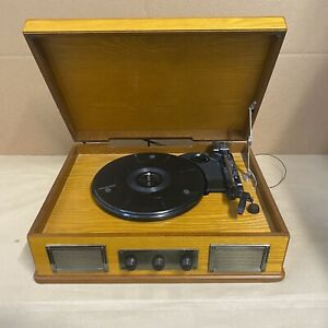 steepletone record player how to use