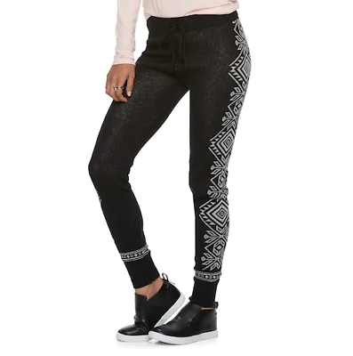 Women's Clothing Clothing, Shoes & Accessories Juniors' So® Drawstring Sweater Leggings Msrp $36.00 Warm And Windproof