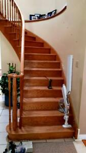 Stairlift Removal Service!  I pay cash $$$ for your Chair Lift! Stair repair too! Chairlift Glide Acorn Bruno Stannah Kingston Area Preview