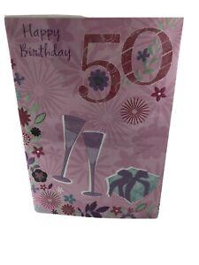 Greeting Card Birthday /'50 Today Fifty/' 50th Hallmark