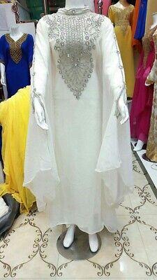 MOROCCAN DUBAI KAFTANS ABAYA DRESS VERY FANCY LONG GOWN MS CREATION 10250