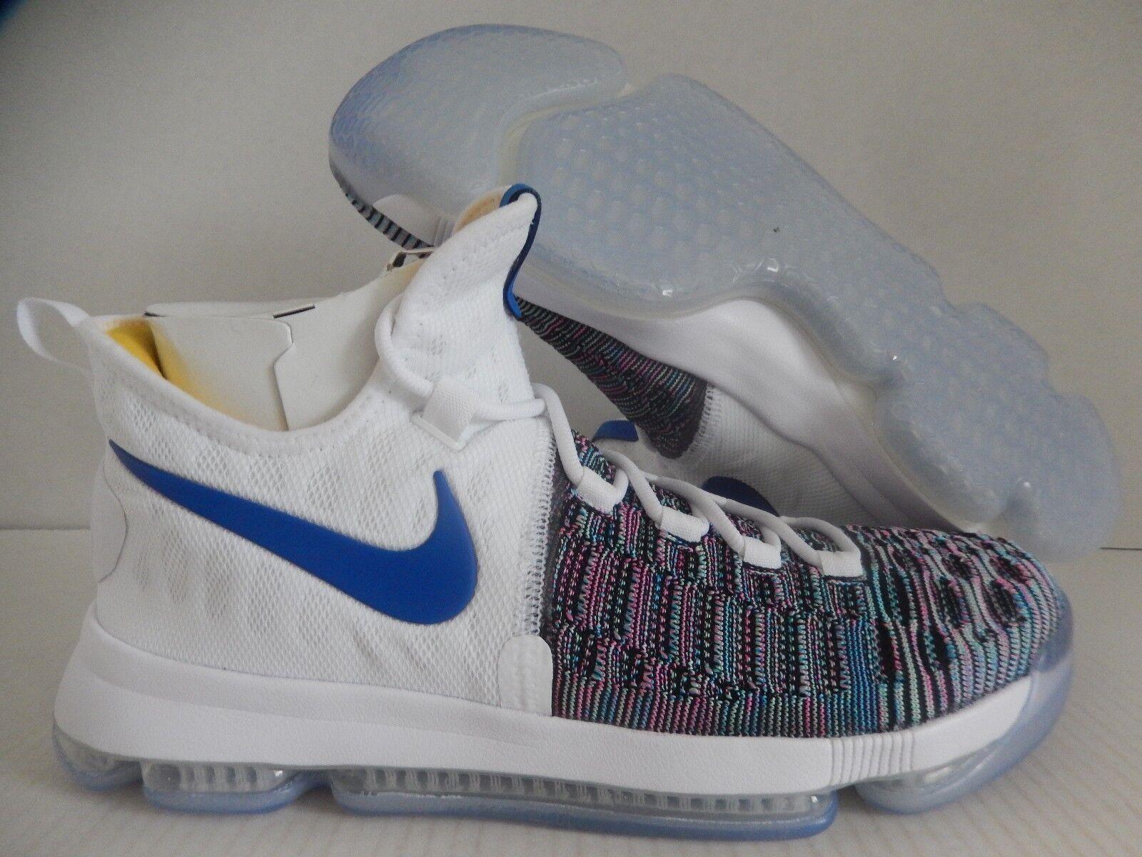 Nike kd 9 id Weiß-Blau