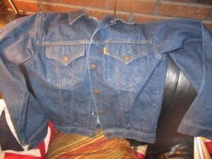 bis zu 80% sparen neue sorten suche nach neuesten Details zu Vintage 80's LEVI STRAUSS Boys Jean Jacket Size 22 Snap Up  LEVI'S Made In USA