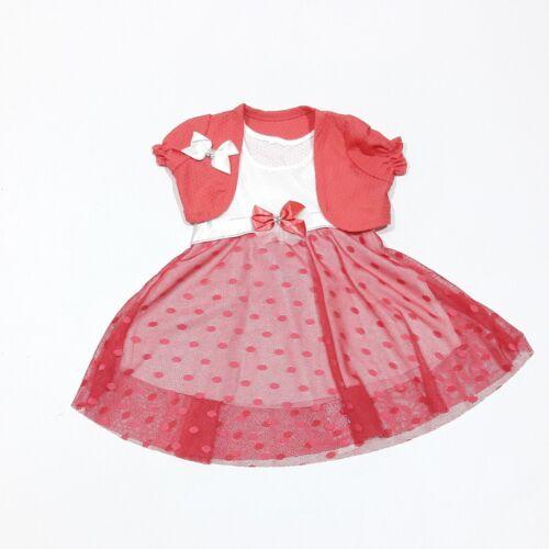 ♥ Neu ♥ Babykleidung Kleid Weste Gr  86 ; 92 ; 98 2-teilig