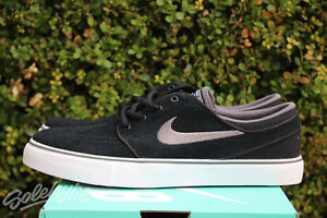 c09a68e8234ab NIKE SB STEFAN JANOSKI GS SZ 6 Y BLACK LIGHT GRAPHITE WHITE GUM ...