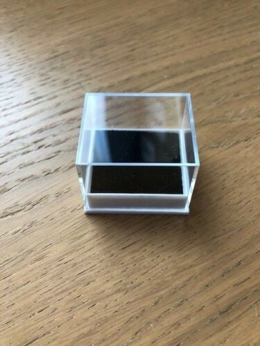 Regalo Cajas de Anillo Mayorista JOBLOT 50 cajas para anillos claro con inserciones de negro