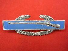 Vintage COMBAT INFANTRYMAN BADGE CIB Sterling US Army Rifle Post Pin WW II World