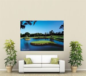 Image Is Loading 17th Hole TPC Sawgrass Golf Course Giant 1  Part 96