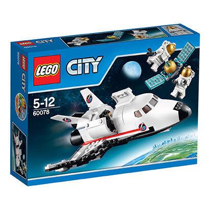LEGO CITY 60078 Space Shuttle Raumfähre NEU  passt zu 60079,60080,60077,3368