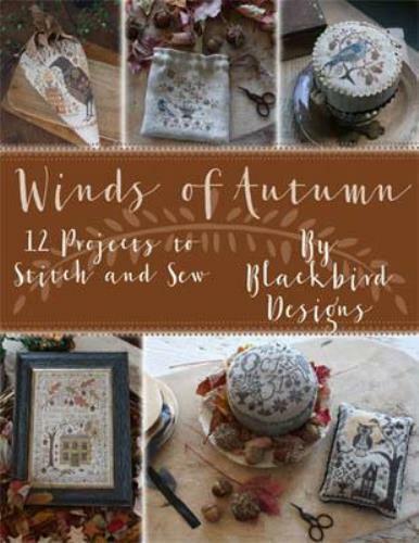 Winds of Autumn by Blackbird cross stitch pattern