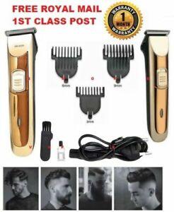 Professional-Hair-Clippers-Cordless-Trimmer-Shaver-Pro-Men-039-s-Basic-Barber-Set-UK
