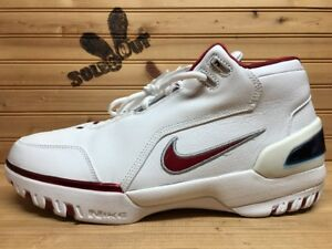 2004-New-Nike-Air-Zoom-Generation-AZG-sz-12-White-Crimson-LeBron-308214-161-CR