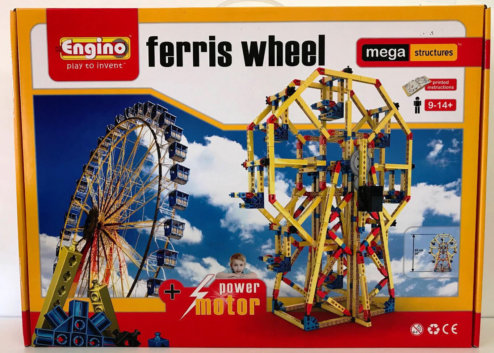 Engino Mega Structures Motorised Ferris Wheel