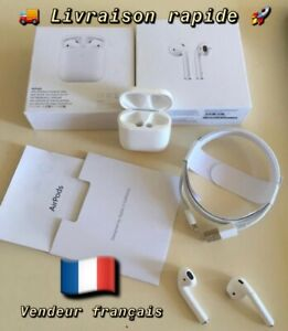 AirPods-2-NEUF-sous-BLISTER-Bluetooth-Chargeur-sans-FIL