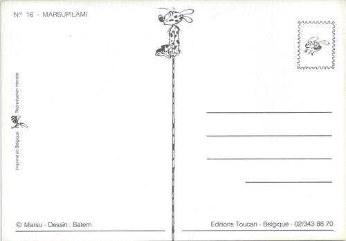 """CPM Réf 16 /"""" ILLUSTRE par FRANQUIN /"""" ED TOUCAN Carte Postale MARSUPILAMI"""