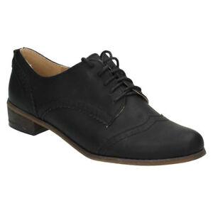 reputación primero comprar baratas venta de tienda outlet Detalles de Spot On Mujer Cordones Elegante Formal Trabajo Tacón bajo  Zapatos Oxford F8R984