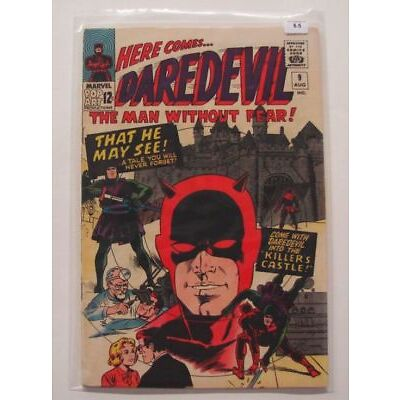 US - Daredevil (Marvel) Vol.1 Nr. 9 Graded 6.5