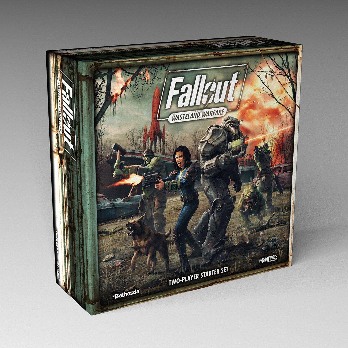 Fallout  désert guerre Entièrement neuf dans sa boîte deux Player Starter Set MUH051235