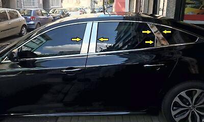 Steel 2005-2013 Mercedes ML W164 chrome porte post pillar 4 portes 6pcs S