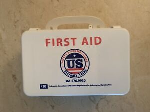 First Aid Kit & First Aid Only Brand. Seal On Box Has Been Opened But Not Used.