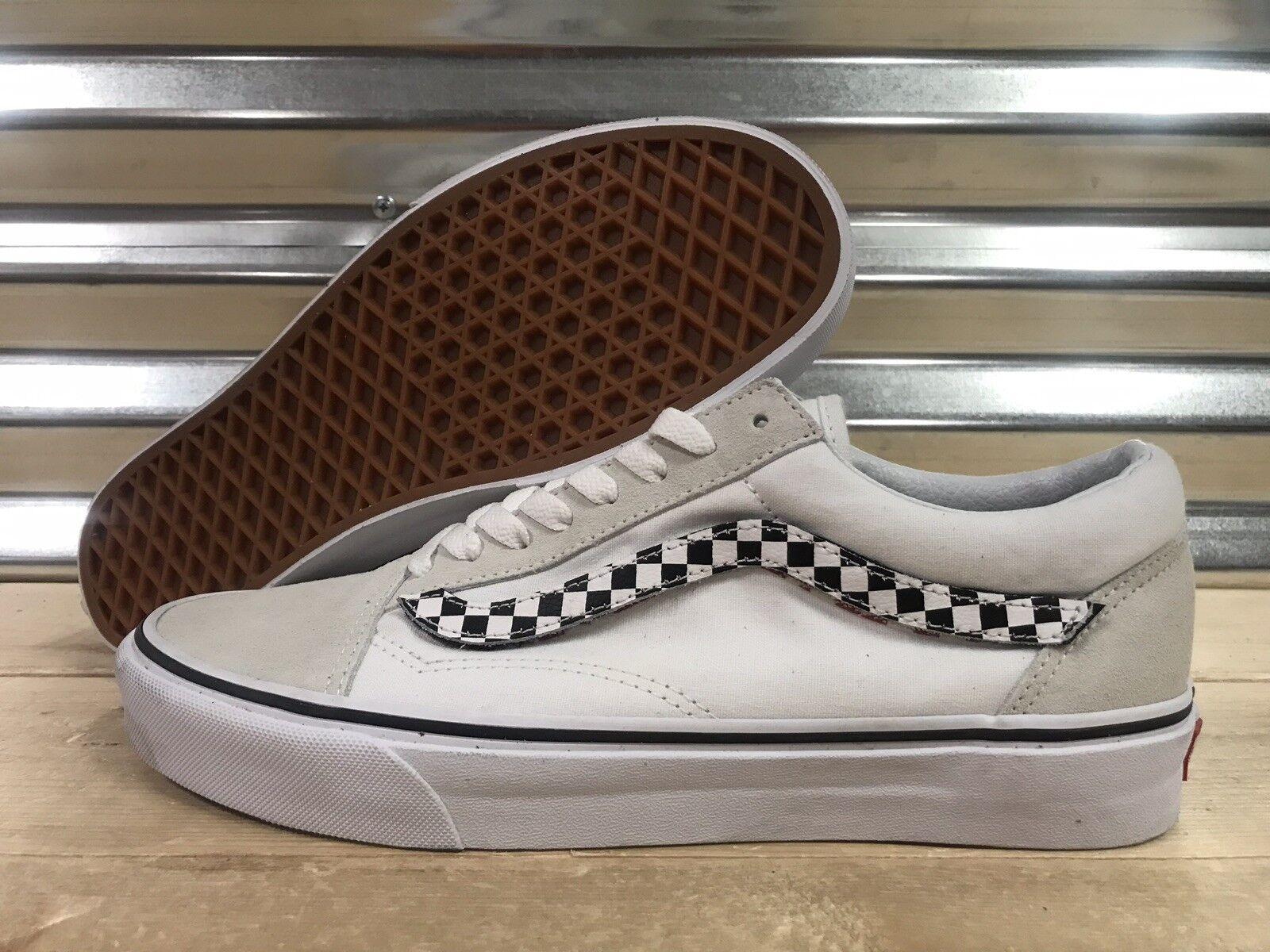 Vans Vans Vans Old Skool Side Stripe V Skate scarpe True bianca Uomo SZ 9 ( VN0A38G1UPC ) 6d79c5