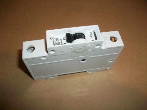 400 vac    3amp     1 pole Siemens Circuit Breaker 5SX21C3     230