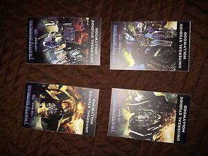 Botcon-2014-Transformers-Universal-Studios-Fan-Experience-Used-Tickets-Set-Of-4