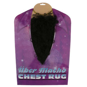 False-Fake-Chest-Hair-Mustache-Self-Adhesive-Facial-Hair-Fancy-Dress-Costume