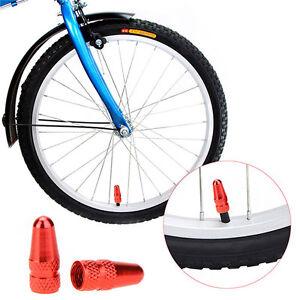 2x Bike Tube Valve Cap Aluminium Presta Light Dust Cover Caps Bicycle Fixie MTB