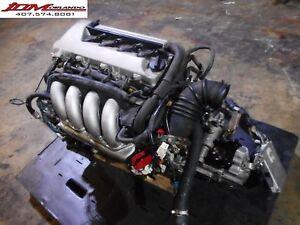 03 08 Toyota Matrix 1 8l Twin Cam Engine 6 Speed Trans Loom Ecu