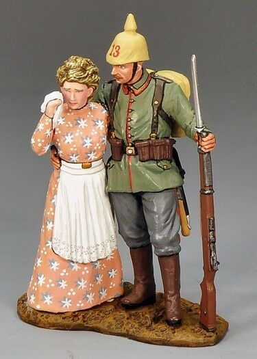 King & Country FW071 WWI German Auf Wiedersehn - RETIRED - Mint in the Box