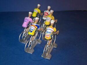 Lot-de-6-cyclistes-Marco-Pantani-Echelle-1-32-Cycling-figure