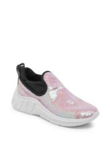 e7c6807934b2 Image is loading Miu-Miu-Sequin-Pull-On-Sneakers-41