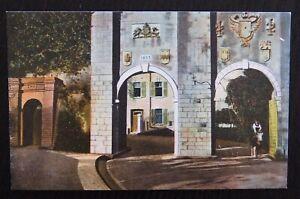 Benzaquen-Unused-Vintage-Postcard-SOUTHPORT-GATES-GIBRALTAR-VGC