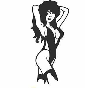 Sexy-Lady-Silhouette-Pole-Dancer-Laptop-Vinyl-Car-Camper-truck-Sticker-SM16-1
