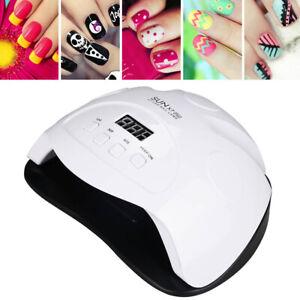 professional 90w led uv nail polish dryer lamp gel acrylic
