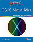 Teach Yourself Visually OS X Mavericks by Paul McFedries (Paperback, 2013)