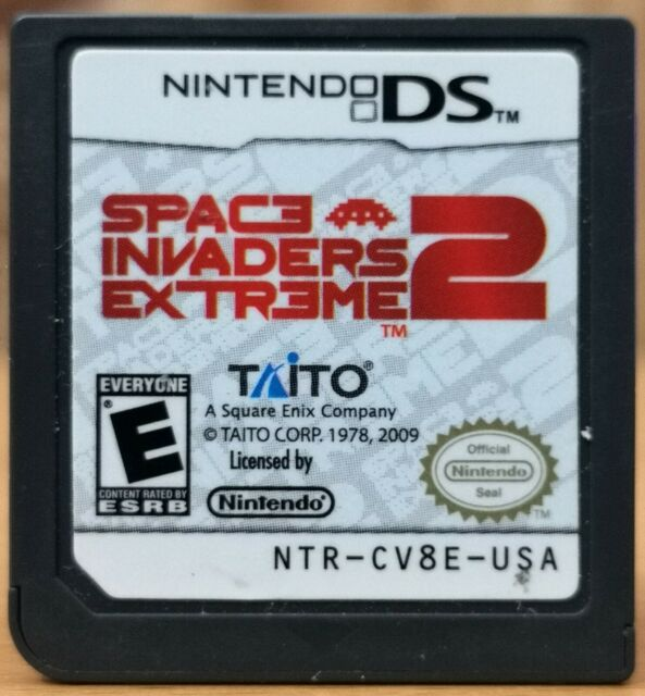 Space Invaders 2 Extreme (Nintendo DS, 2009, Taito) * Disk only E