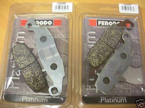 Front Platinum FERODO Plaquettes de frein Suzuki GSF600 Bandit 00-04 GSF650 05-06 GSX600