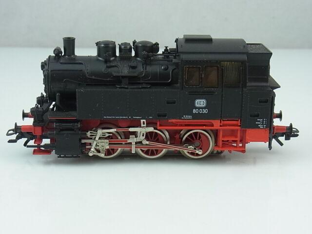 Märklin HO 3504 BR 80 Dampflok 80 030 Lok OVP und Papiere