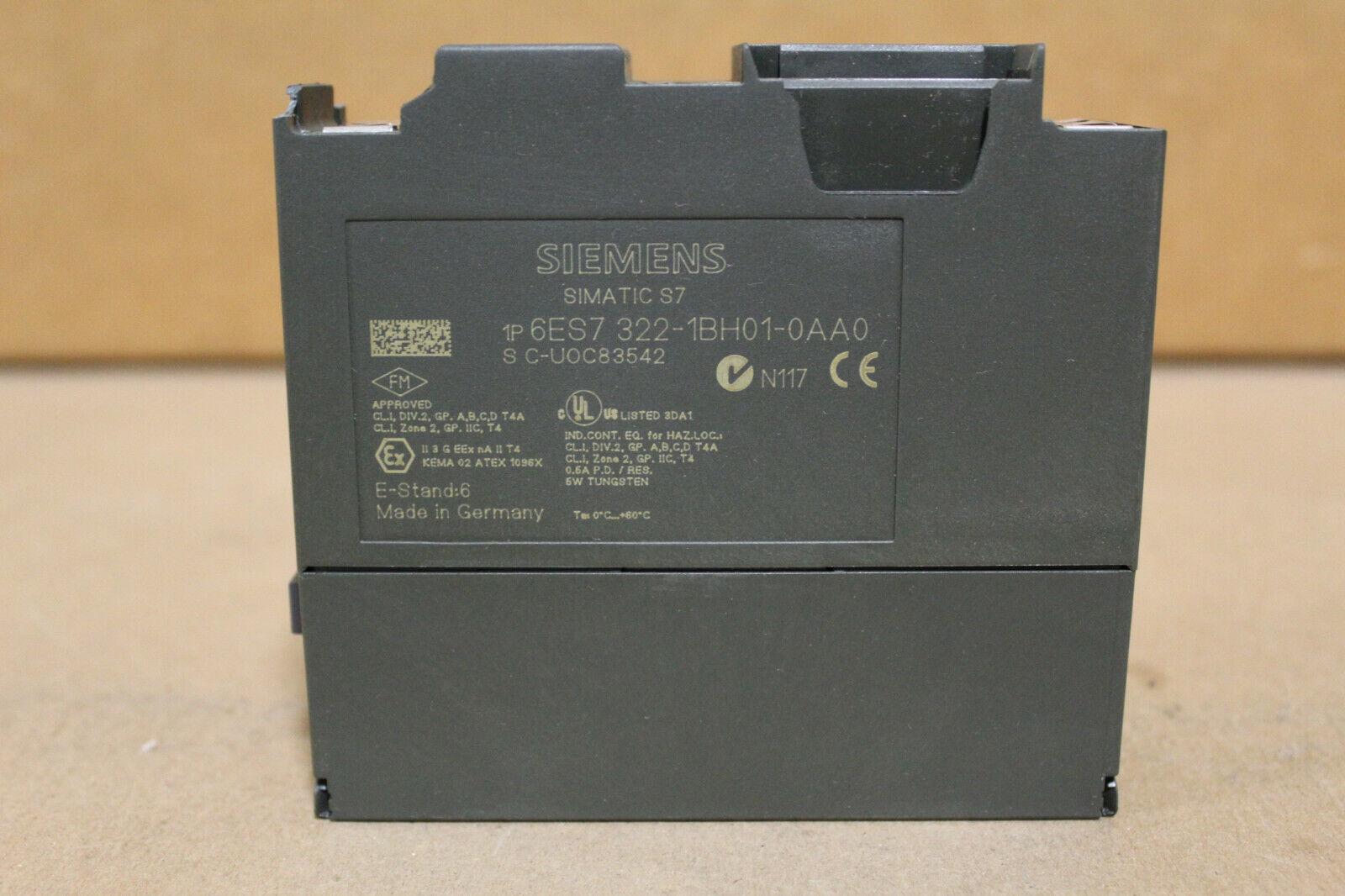 e-Stand 7 Siemens s7-salida digital SM 322-6es7 322-1bh01-0aa0