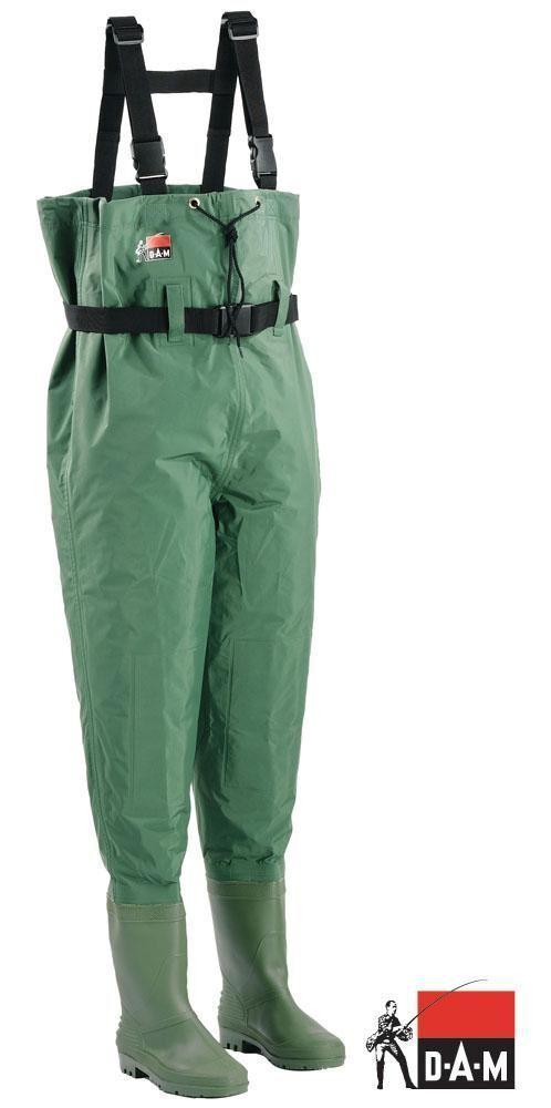 Dam Hydroforce Nylon Taslan Cuissardes Wading Stiefel 40 41 44 45 46 47