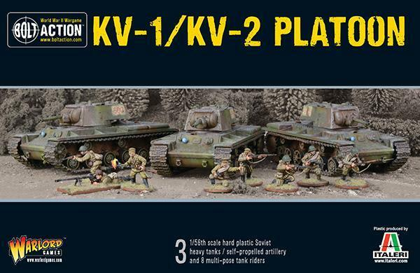 Bolt Action BNIB Soviet KV1 2 Platoon WGB-402014005