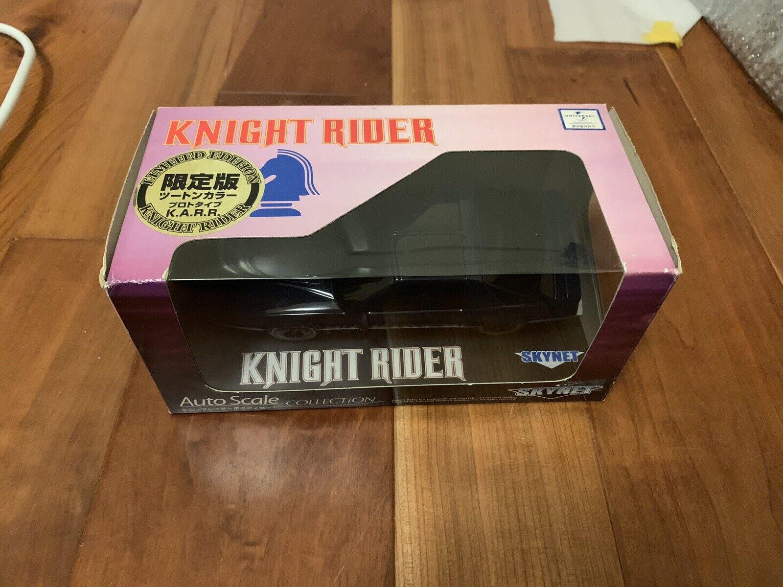 Kyosho Auto Scale Aoshima Mini-Z Knight Rider Prossootype  KARR Japan Exc. Ltd  consegna rapida