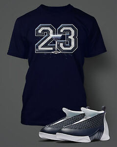e5e3ee476c6 T Shirt to Match AIR JORDAN 15 OBSIDIAN Graphic Pro Club Short ...